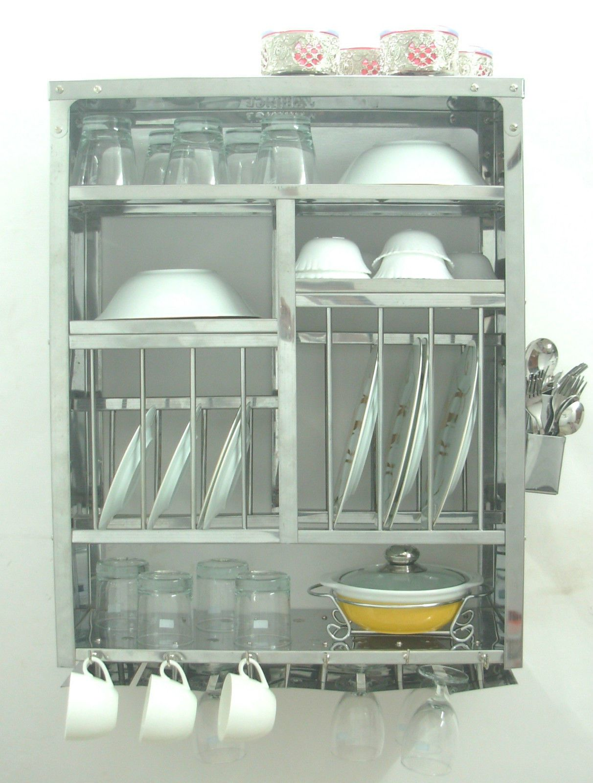 Huge Stainless Steel Industrial Shelves Make Great Display Storage If You Have A Big Empty Wall Open Pantry Metal Storage Shelves Pantry Shelving