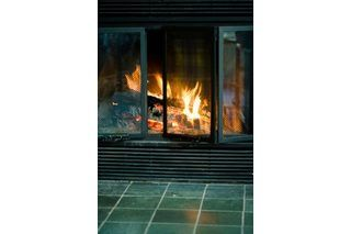 How To Remove Candle Wax From Brick Fireplace Doors Fireplace Glass Doors Glass Fireplace