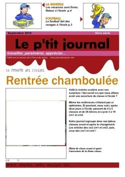 un journal pour la rentr e school en vrac journal. Black Bedroom Furniture Sets. Home Design Ideas