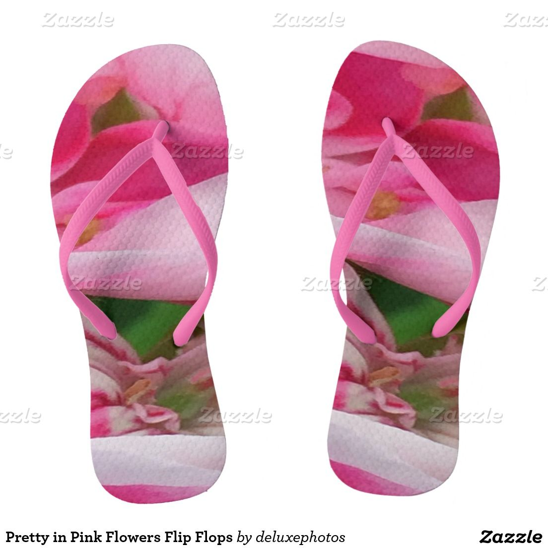 Pretty In Pink Flowers Flip Flops Pinterest Flipping Flower And
