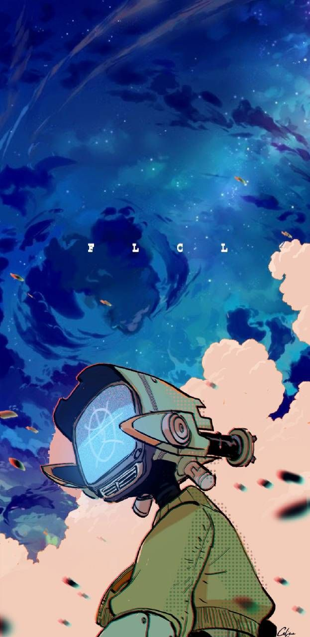 Fooly Cooly Flcl Anime Art Cool Anime Wallpapers Anime