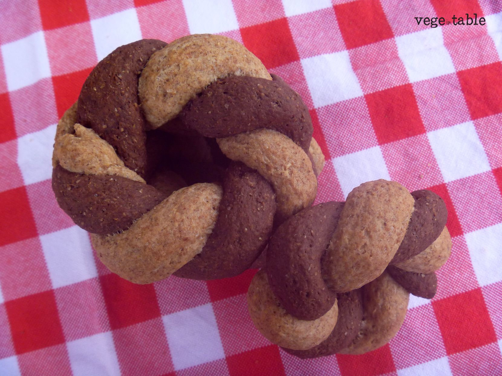 vegeintable: Christmas Garland with Cinnamon (vegan)