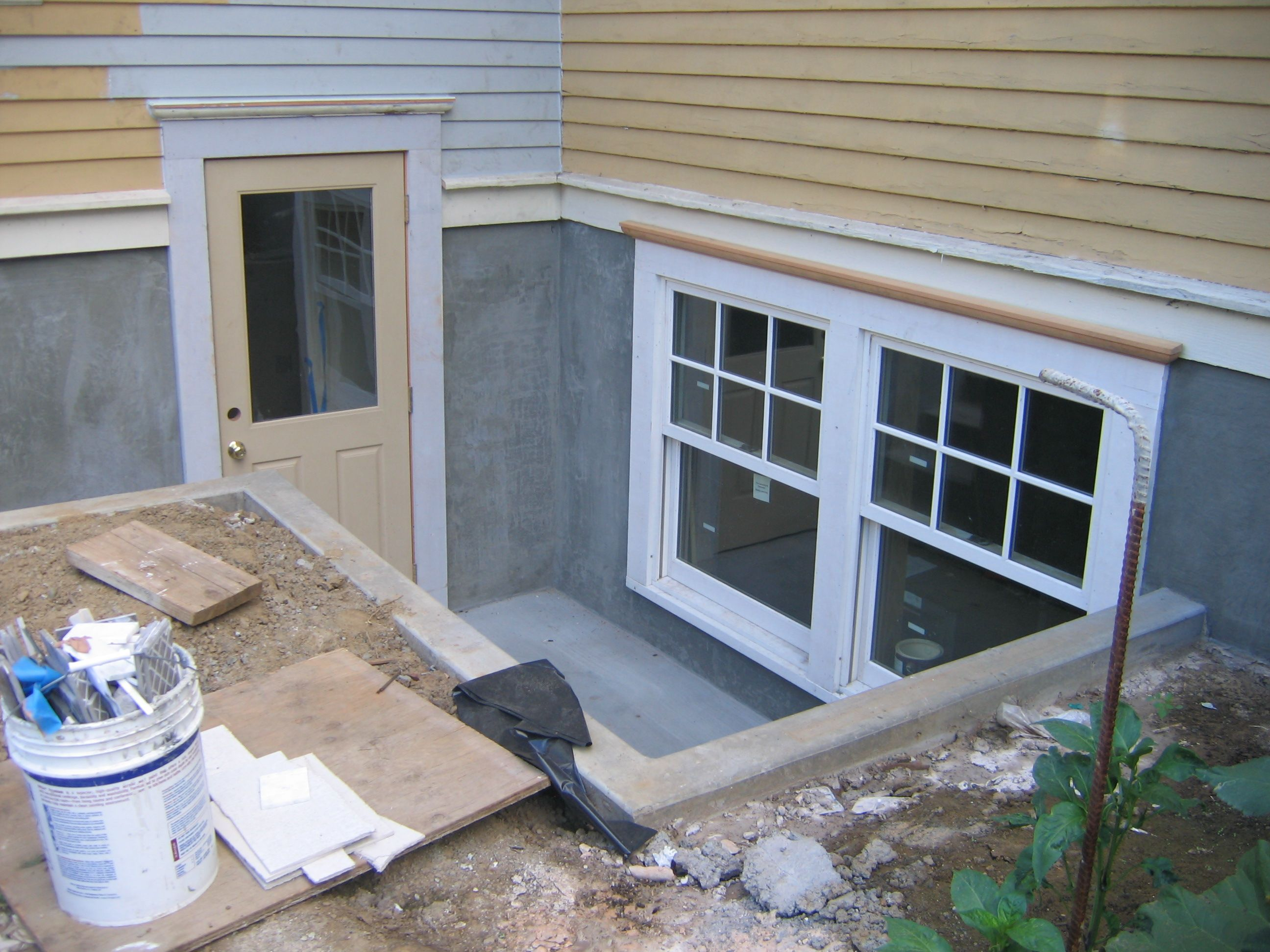 Concrete Our Remodel S Weblog Basement Windows Egress Window Window Remodel