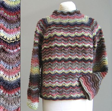 Top Down Sweater Knitwhits Perrin Top Down Sweater Knitting