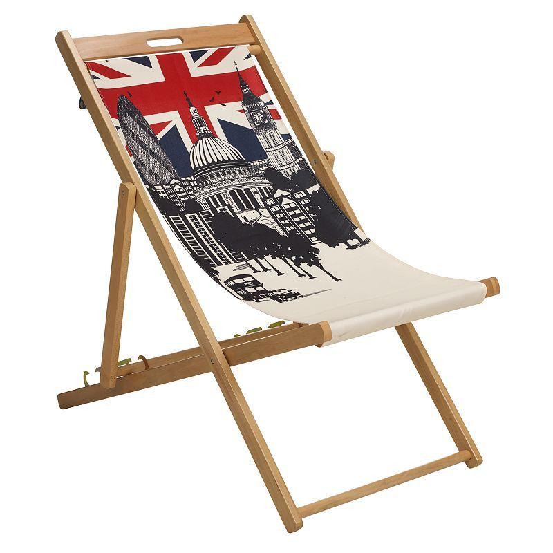 Buy London Canvas Deckchair online at JohnLewis.com - John Lewis