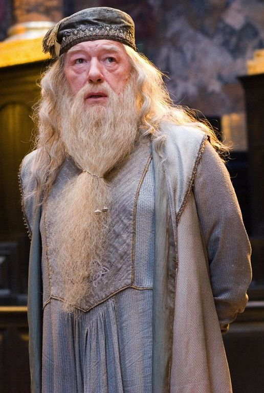 Why do I still think of him as the 'fake' Albus Dumbledore ...