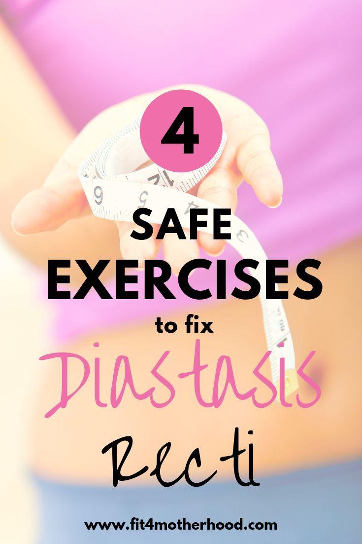 4 safe exercises to fix diastasis recti mommy tummy
