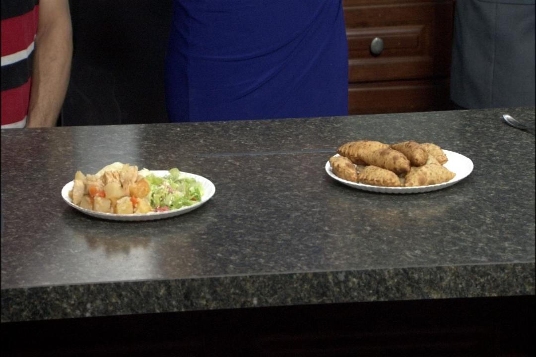 Pineapple Chicken and Steak Empanadas -- a tastes of Bolivian culture!