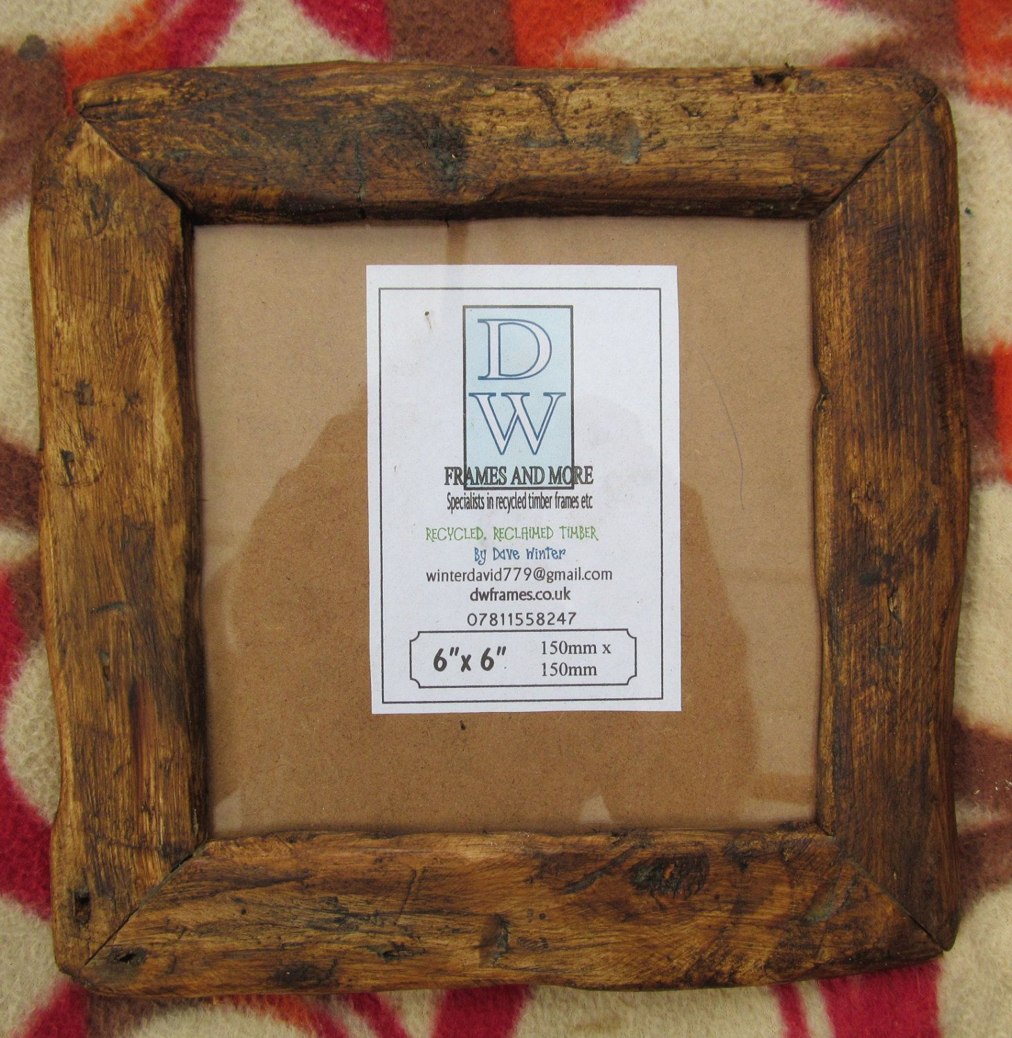 Rusticdriftwood Style Frames In Locally Sourced,Old Recycled Pine In Medium