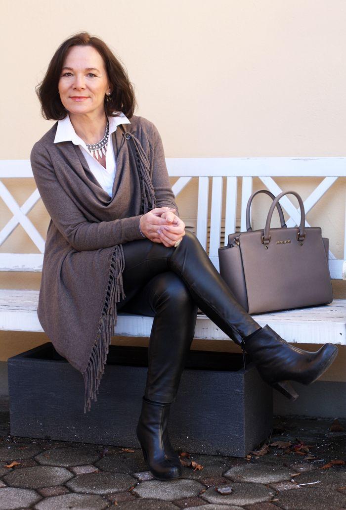 Easy chic in a cosy cardigan | Modische kleider für frauen ...
