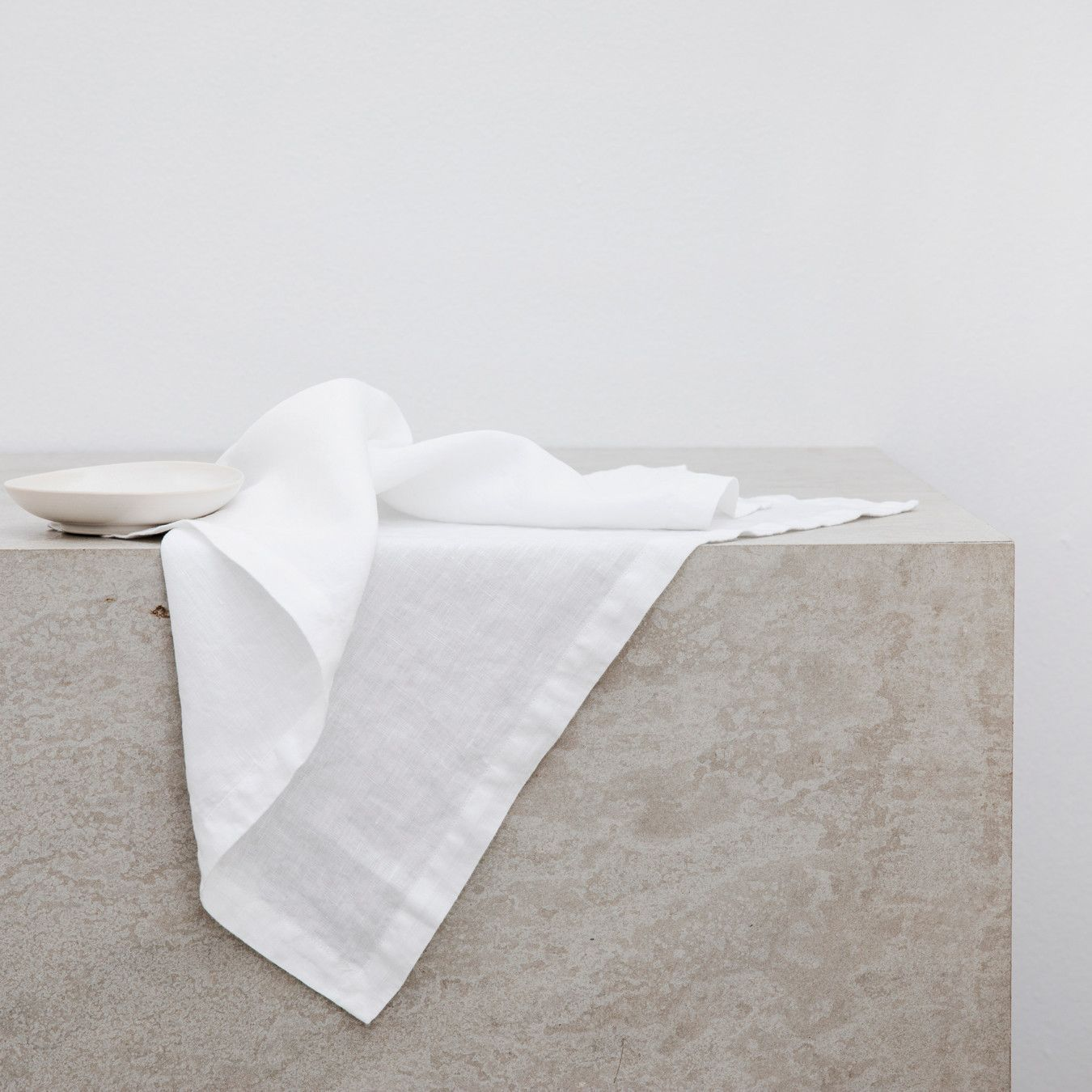 Linen Table Napkins White Linen Napkins Napkins Set Napkins