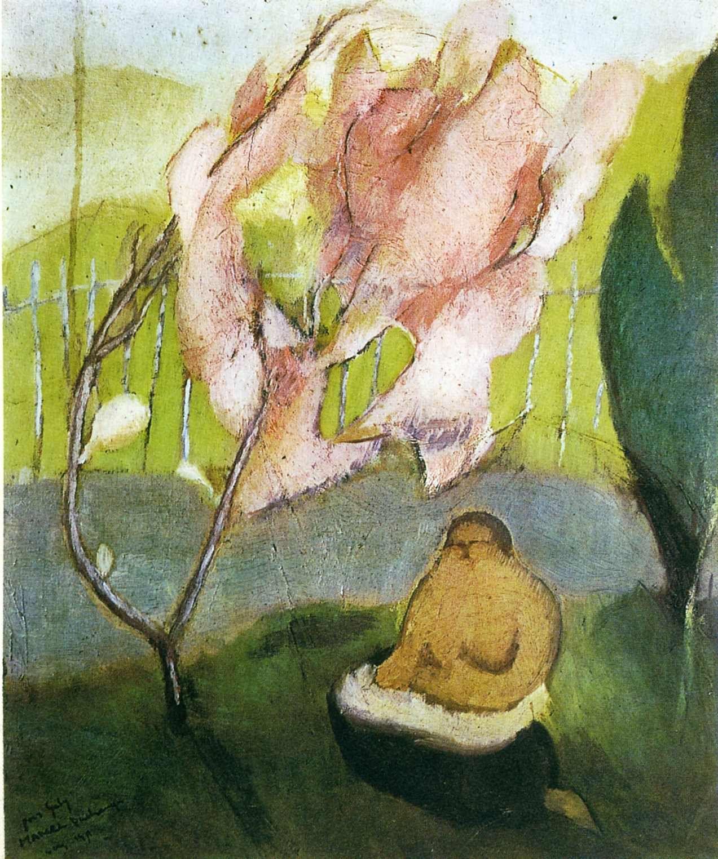 Japanese Apple Tree, Marcel Duchamp, 1911
