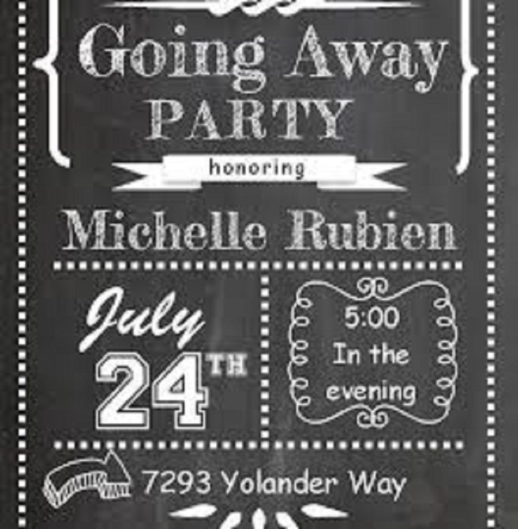 photo about Free Printable Going Away Party Invitations named absolutely free printable relocating absent bash invites Buick Relocating