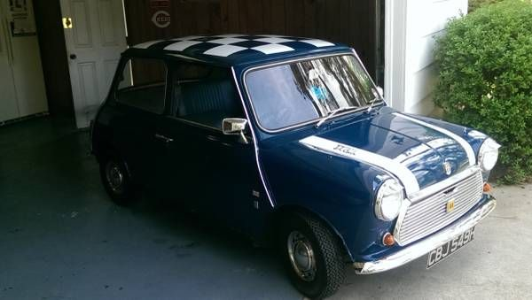 1970 Austin Mini 998 cc $10,000 Warner Robins, GA #ForSale ...