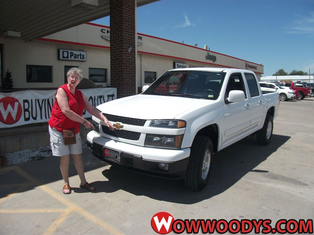 """Virgie Smith from Kirksville, Missouri purchased this 2012 #Chevrolet #Colorado and wrote, """"You were GREAT to work with. Thanks!"""" To view similar vehicles and more, go to www.wowwoodys.com today!"""