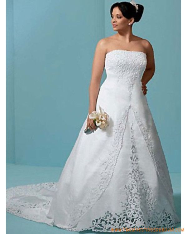 vestidos de novia modernos para gorditas - Buscar con Google ...