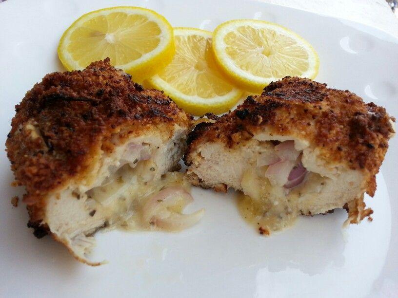 Buttermilk Fried Chicken With Cheesy Polenta Waffles Recipe ...