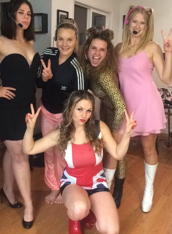 Spice Girls Halloween Costume. #spicegirls #poshspice #sportyspice #gingerspiceu2026  sc 1 th 262 & Spice Girls Halloween Costume. #spicegirls #poshspice #sportyspice ...