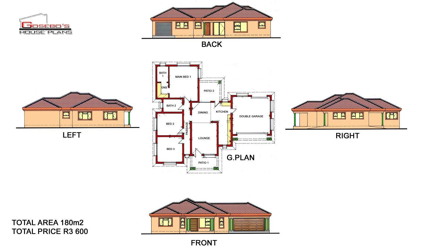 Pin By Gosebo House Plans On Gosebo House Plans House Plans South Africa House Plans House Plan Gallery