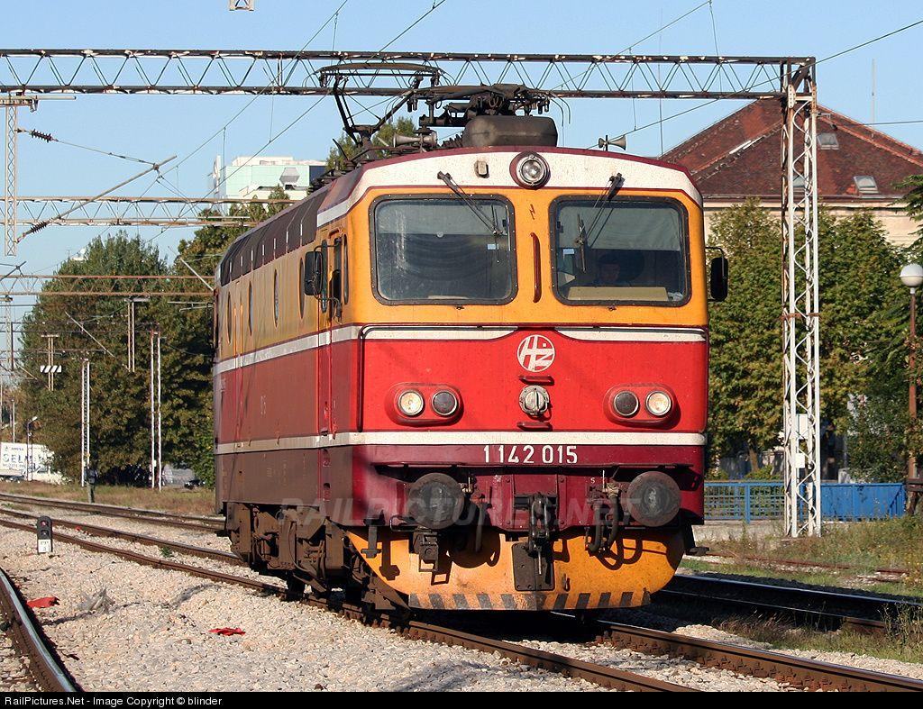 1142 015 H Hrvatske Eljeznice 1142 At Zagreb Croatia By Blinder Zagreb Croatia Train