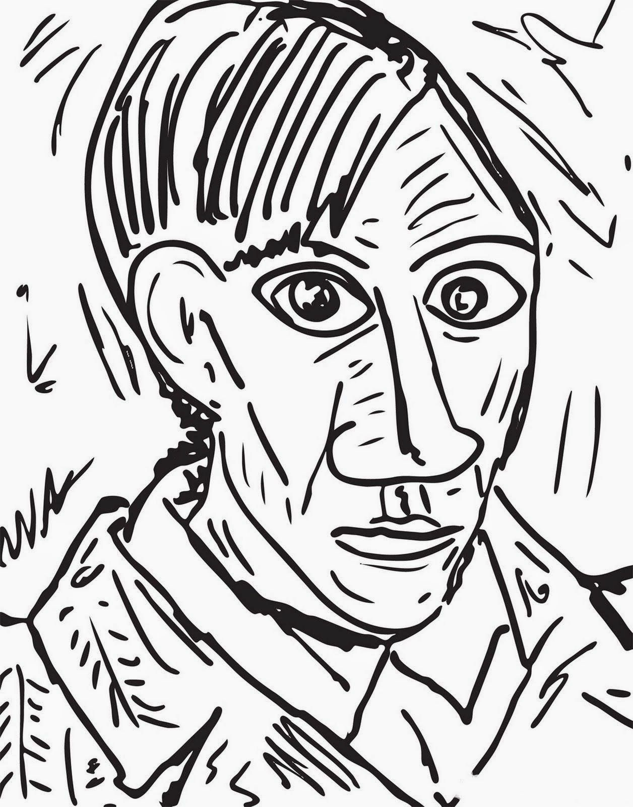 Pintores Famosos Pablo Picasso Para Ninos Cuadros Para