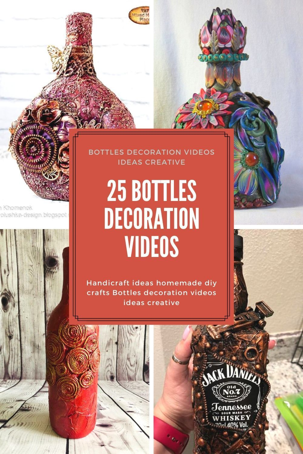 Diy Wine Bottle Crafts For A Fun Afternoon Project Homemade Vases Filled With Flowers Hang In 2020 Recycled Bottle Crafts Water Bottle Crafts Wine Bottle Diy Crafts