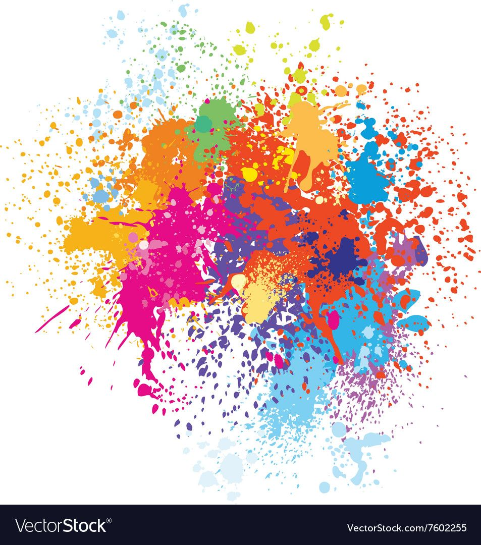 Colorful splash background. Download a Free Preview or