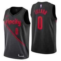 3e17035da Portland Trail Blazers Nike City Edition Swingman Jersey - Damian Lillard -  Youth