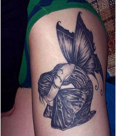 Tatuajes De Hadas Para Mujeres Tattoos Pinterest