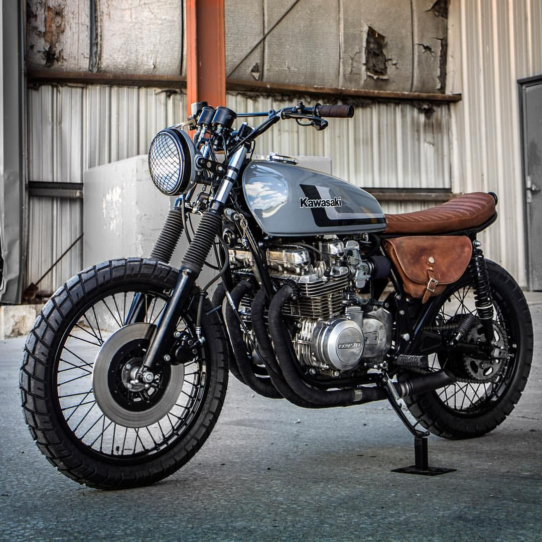 Sak it to me. '78 Kawasaki KZ650 fit for adventure, and dialled in