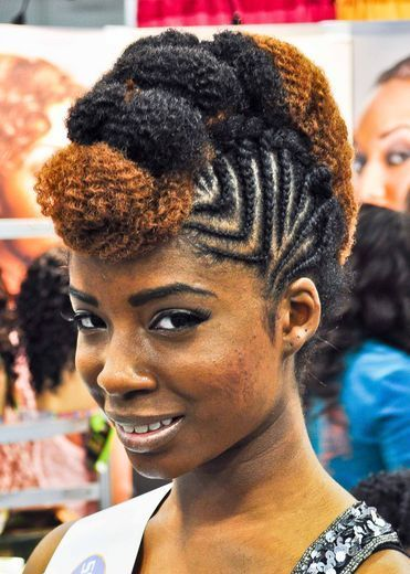 Street Style Hair The World Natural Hair Show Hair Styles Natural Hair Styles African Hairstyles