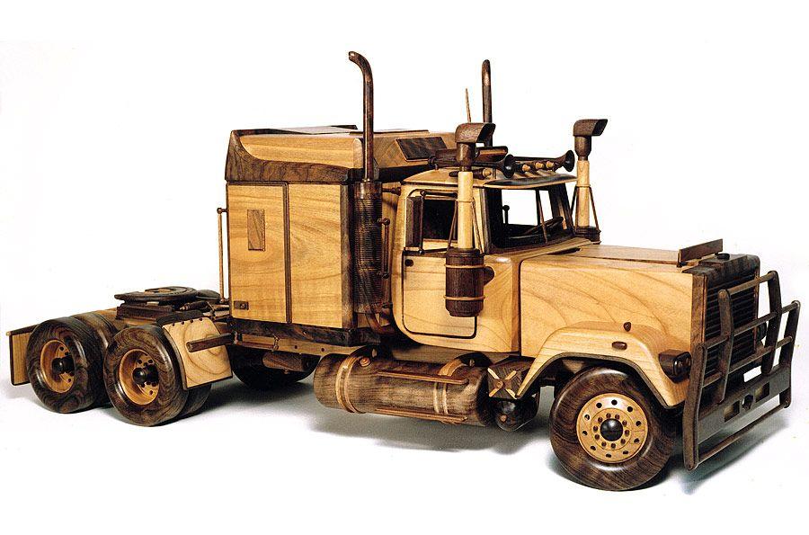 Sensational Replica Of Mack Truck Wooden Toys Wooden Toy Trucks Evergreenethics Interior Chair Design Evergreenethicsorg
