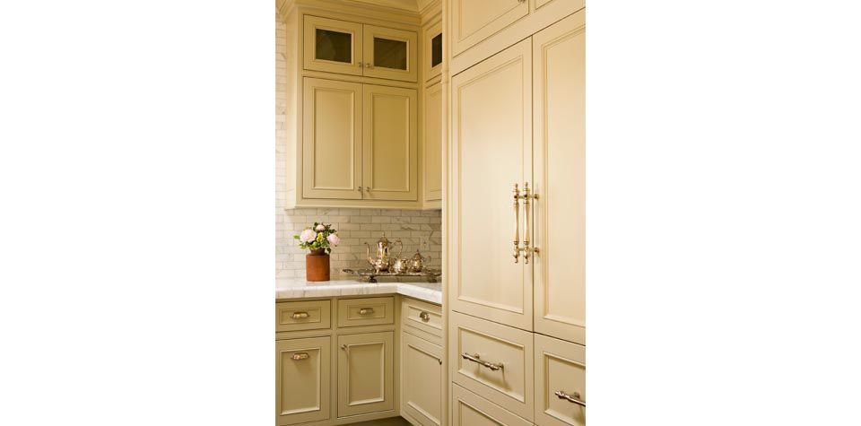 Kitchen cabinetry and hardware inspiration   Tall cabinet ...