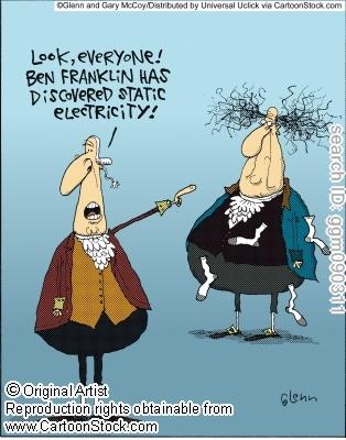 Discovering Static Electricity Benjamin Franklin
