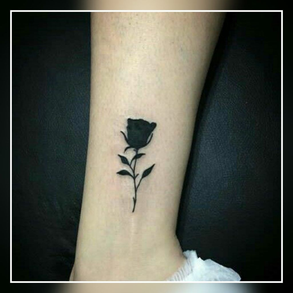 45+ Small Black Rose Tattoo Ideas - Small Tattoo Ideas | Small rose tattoo,  Rose tattoos, Black rose tattoos