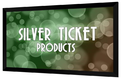 Str 169100 Silver Ticket 100 Diagonal 16 9 Hdtv 6 Piece Fixed Frame Projector Screen White Material Silver Ticket Products H Projector Screen Hdtv Projector