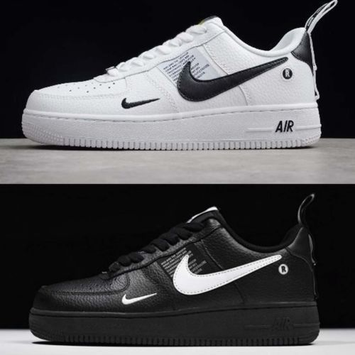 ed156e3659164 Clothing Shoes and Accessories 158963  Nike Air Force 1 07 Lv8 Utility Black  White Mens Shoes Af1 Sneakers Pick 1 -  BUY IT NOW ONLY   124.99 on  eBay  ...