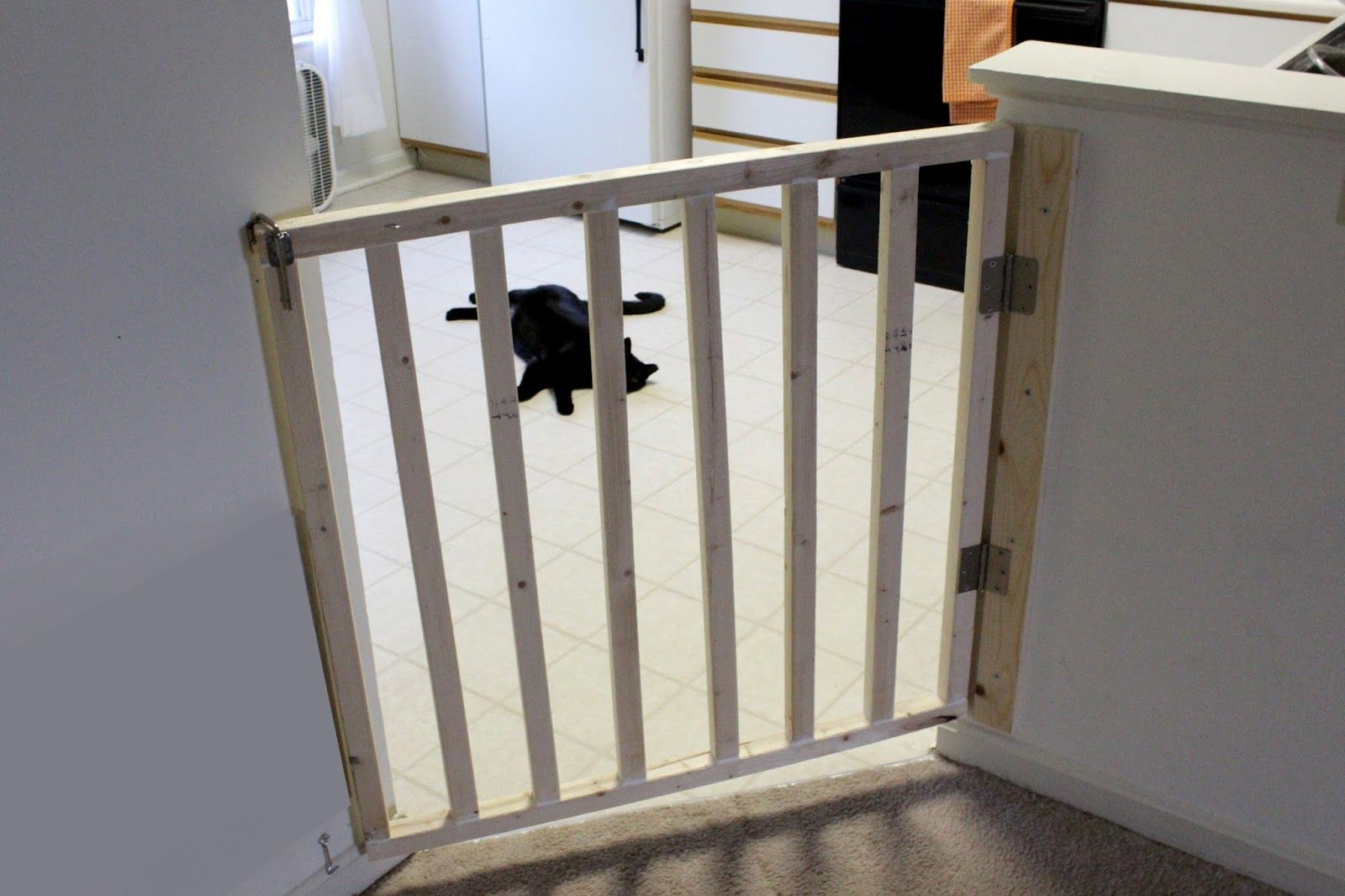 Angled Dog Gate Diy Wall Decor For Bedroom Diy Baby Gate House Warming Gift Diy