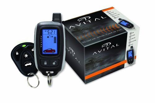Avital 3300L 2way LCD Security Car alarm, Remote start