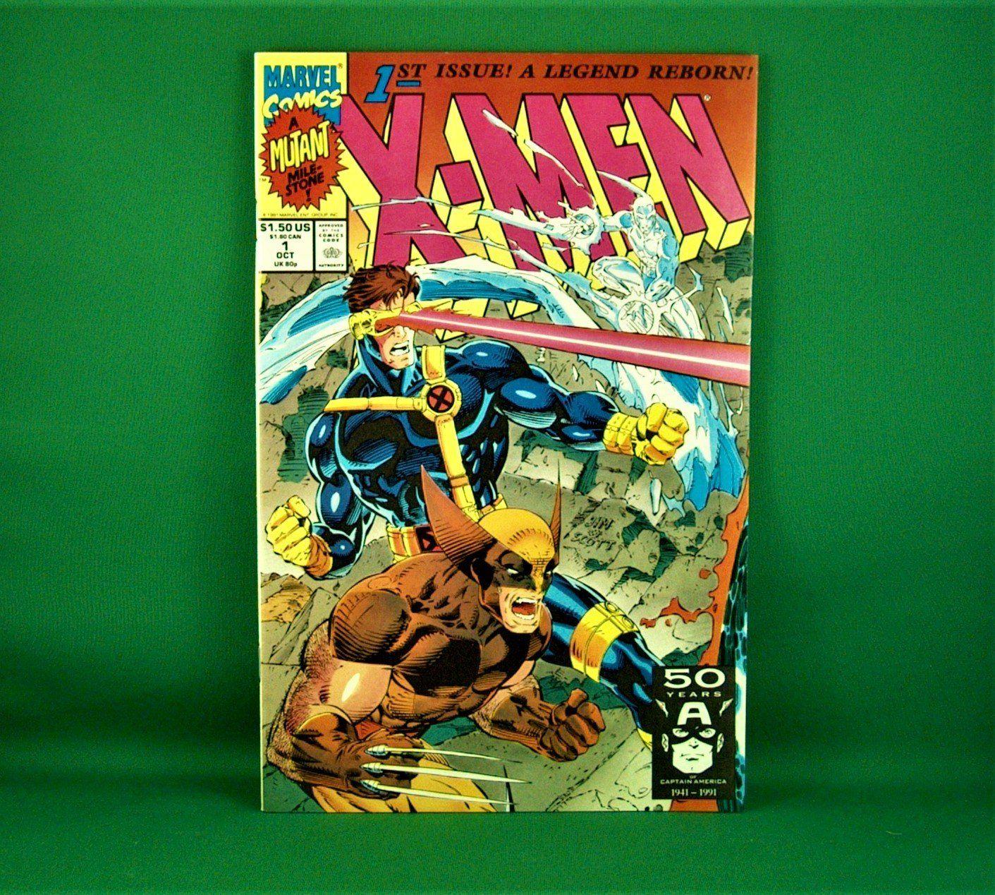 Marvel Comics X Men 1 A Mutant Mile Stone October 1991 In 2020 Marvel Comics Mutant Marvel