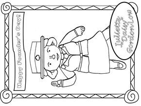 Girl Scout Juliette Gordon Low Coloring Page Yahoo Image