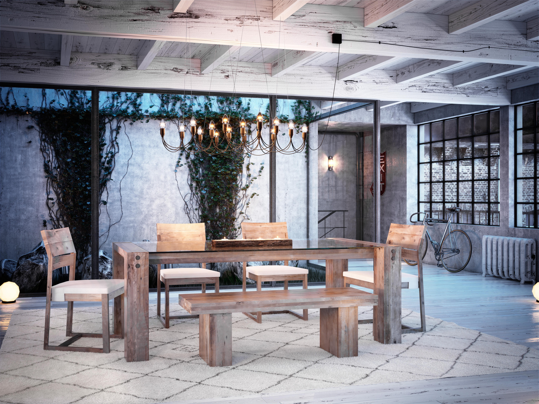 Todays dining inspiration! birch wood, combining