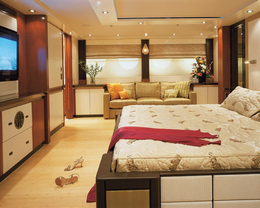 Unique Yacht Interiors Pictures