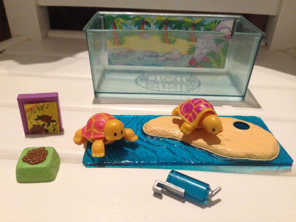Littlest Pet Shop Vintage Toddling Turtles Paradise Island Kenner 1992 Complete Kindheit
