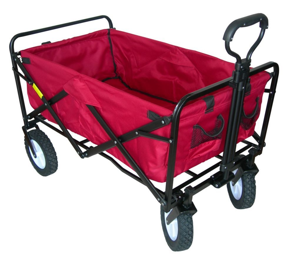 150 lbs. Capacity Folding Wagon (With images) Folding