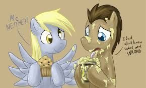 Image result for mlp derpy and doctor whooves clopfic