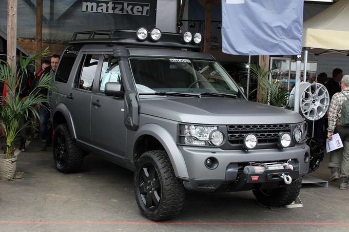 Discovery 4 Vehiculos Overland Y