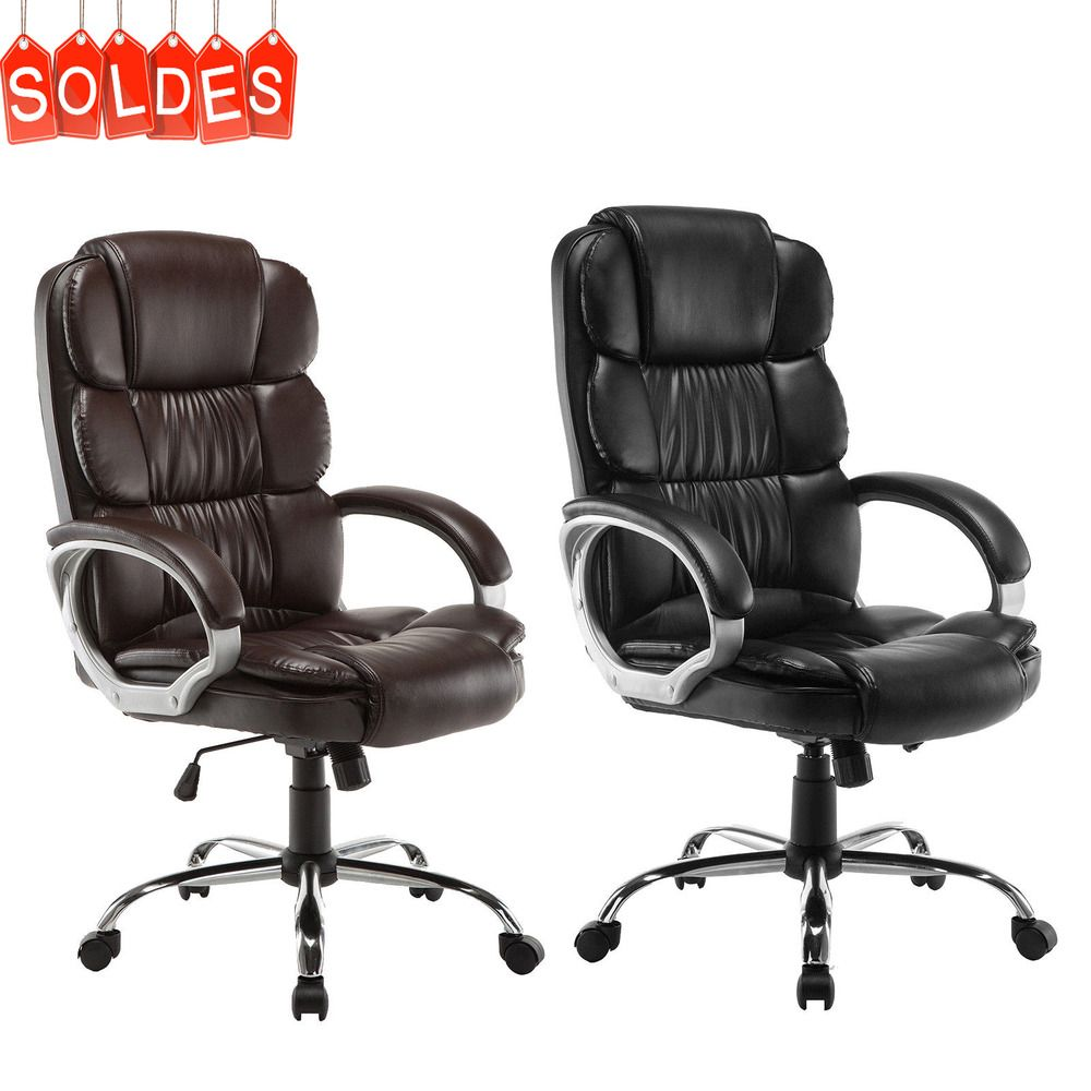 Luxury Executive High Back Pu Office Chair Computer Boss Style