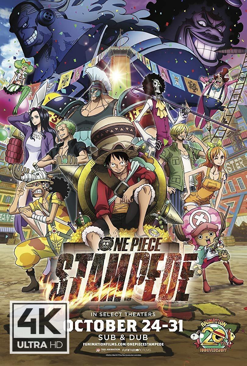4k Ultra Hd One Piece Stampede 2019 Watch Download One Piece Stampede 2019 One Piece Movies Watch One Piece One Piece