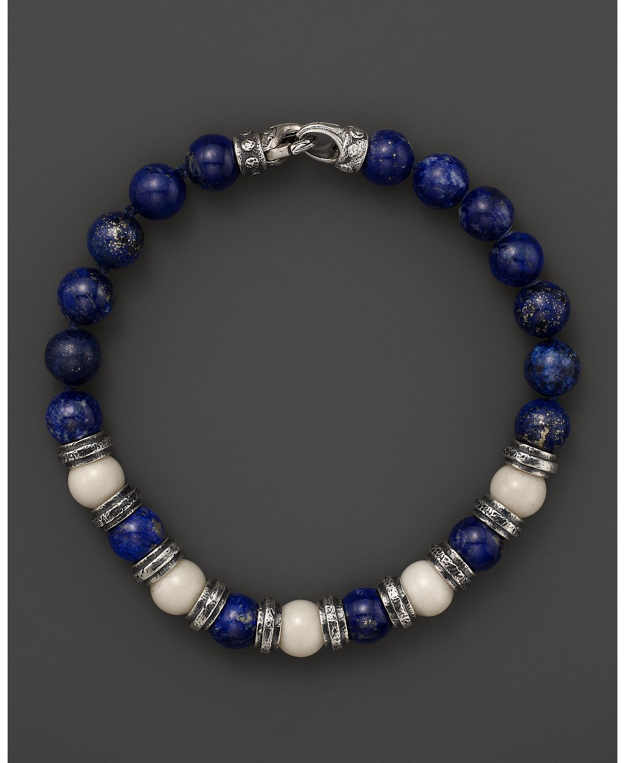 Scott kay bone and lapis beaded bracelet bloomingdalesus
